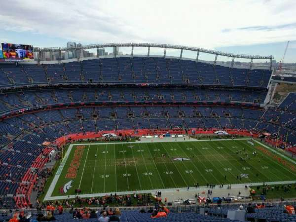 Empower Field at Mile High Stadium, section: 511, row: 29, seat: 12