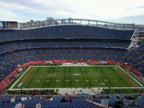 Empower Field at Mile High Stadium, section: 509, row: 35, seat: 5