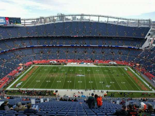 Empower Field at Mile High Stadium, section: 508, row: 33, seat: 10