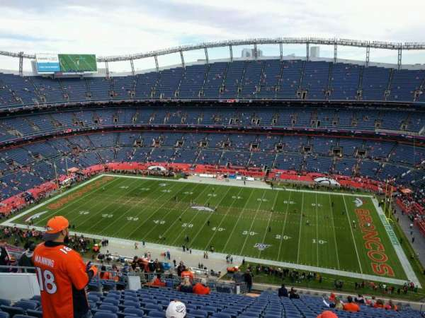 Empower Field at Mile High Stadium, section: 505, row: 23, seat: 17