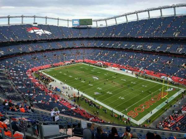 Empower Field at Mile High Stadium, section: 501, row: 12, seat: 13