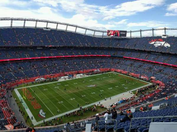 Empower Field at Mile High Stadium, section: 540, row: 20, seat: 6