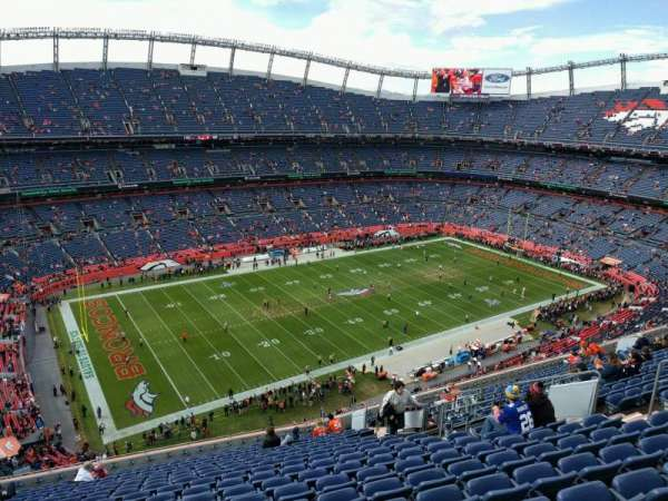 Empower Field at Mile High Stadium, section: 539, row: 18, seat: 14