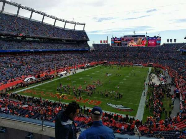 Empower Field at Mile High Stadium, section: 321, row: 4, seat: 3
