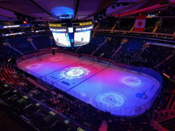 Madison Square Garden, section: 328, row: 2, seat: 3