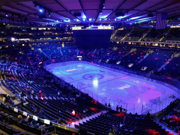 Madison Square Garden, section: 413, row: 1, seat: 1