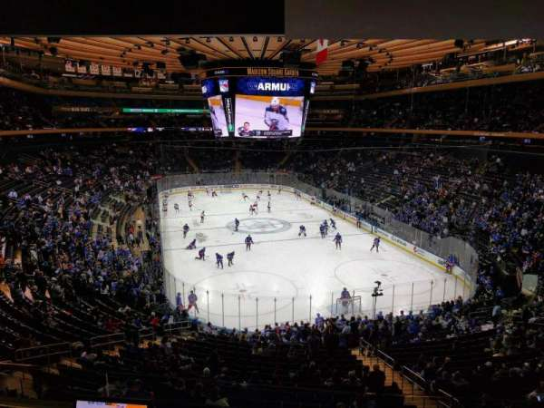 Madison Square Garden, section: 203, row: 3, seat: 6