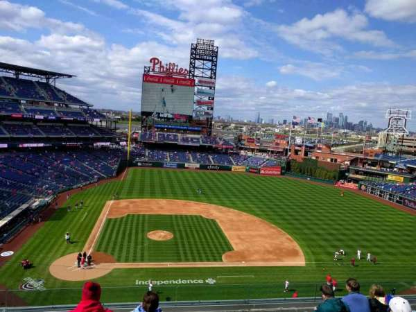 Citizens Bank Park, section: 316, row: 7, seat: 17