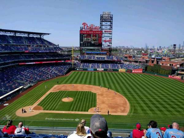 Citizens Bank Park, section: 315, row: 8, seat: 8