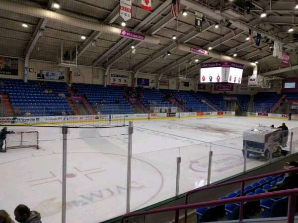 1st Summit Arena, section: 1, row: f, seat: 9