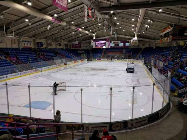 1st Summit Arena, section: 21, row: k, seat: 6