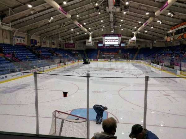 1st Summit Arena, section: 20, row: f, seat: 12
