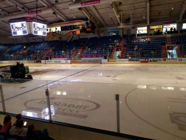 1st Summit Arena, section: 16, row: e, seat: 11