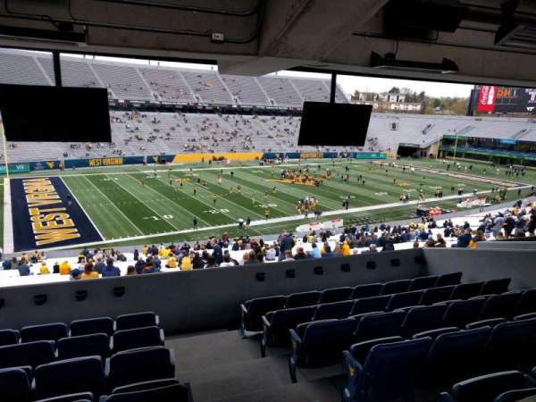 Mountaineer Field, section: field box 44, row: g, seat: 1