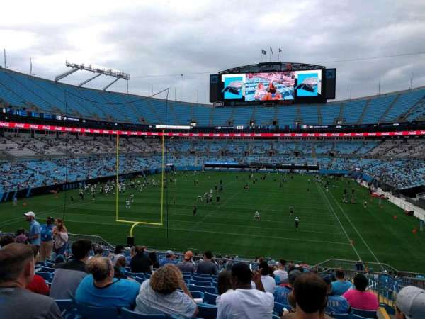 Bank of America Stadium, section: 228, row: 10, seat: 7