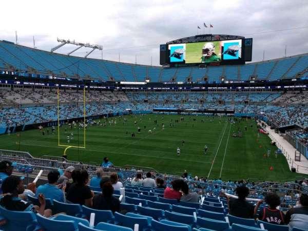 Bank of America Stadium, section: 227, row: 11, seat: 7
