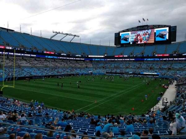 Bank of America Stadium, section: 235, row: 1, seat: 6