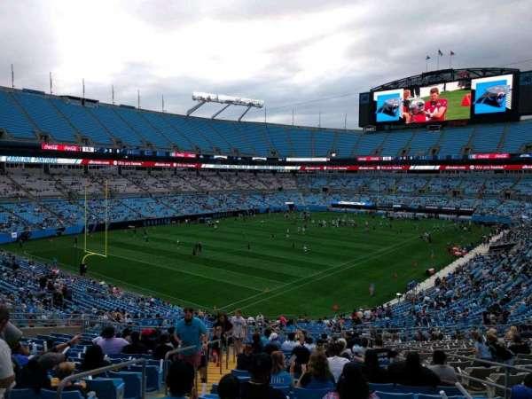 Bank of America Stadium, section: 337, row: 17, seat: 7