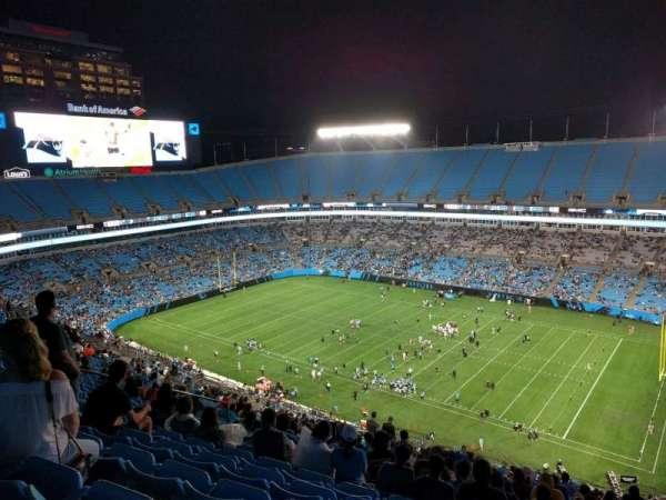 Bank of America Stadium, section: 510, row: 26, seat: 17
