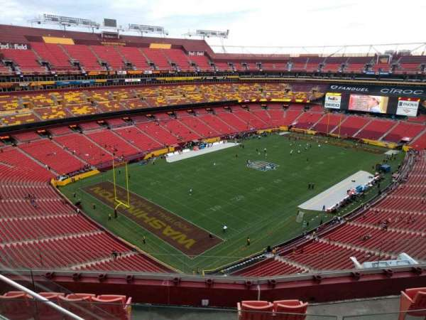 FedEx Field, section: 435, row: 5, seat: 11