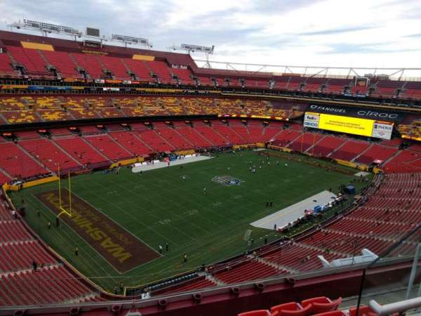 FedEx Field, section: 434, row: 5, seat: 8