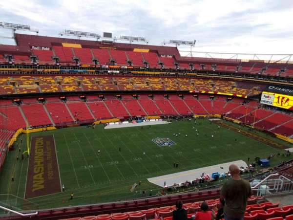 FedEx Field, section: 431, row: 10, seat: 17