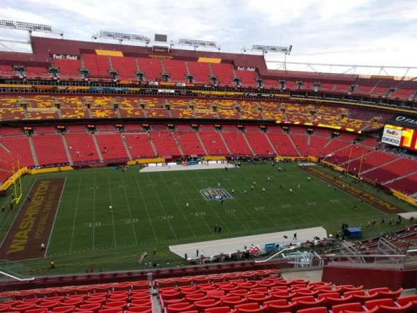 FedEx Field, section: 430, row: 13, seat: 13