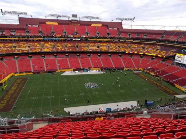 FedEx Field, section: 429, row: 16, seat: 18