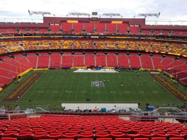 FedEx Field, section: 428, row: 18, seat: 11