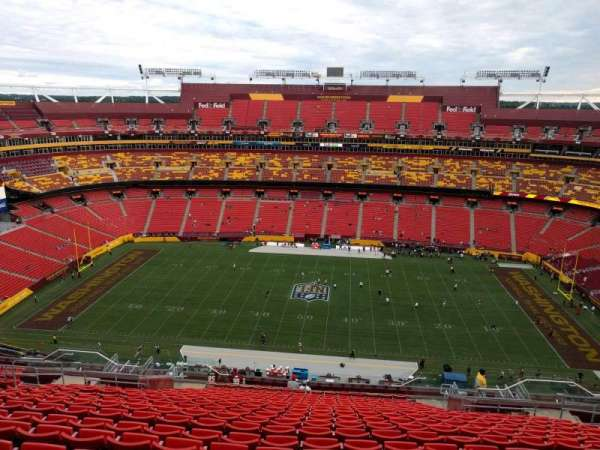 FedEx Field, section: 427, row: 21, seat: 12