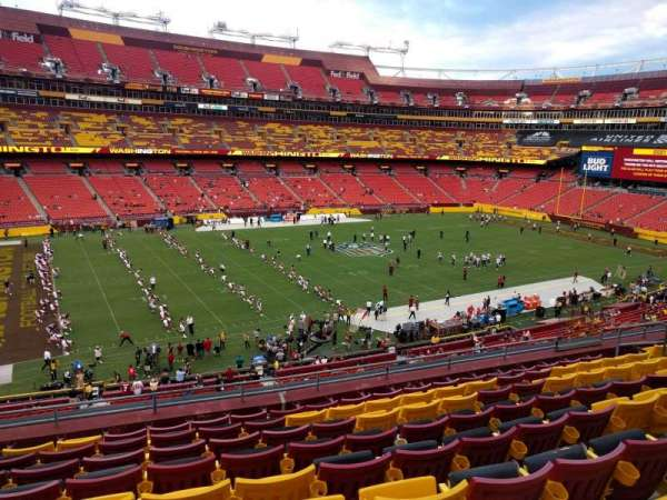 FedEx Field, section: 304, row: 9, seat: 15