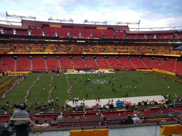 FedEx Field, section: 302, row: 14, seat: 17
