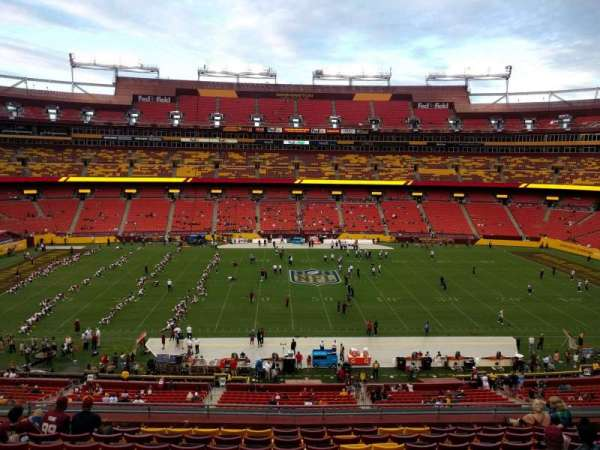 FedEx Field, section: 301, row: 11, seat: 12
