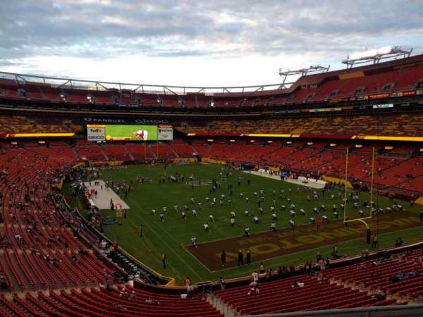 FedEx Field, section: 335, row: 4, seat: 17