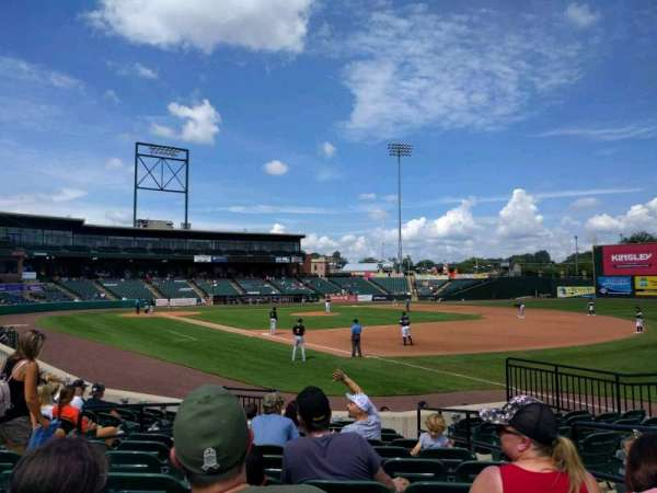 PeoplesBank Park, section: 2, row: l, seat: 4