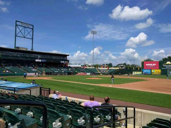 PeoplesBank Park, section: 4, row: h, seat: 12