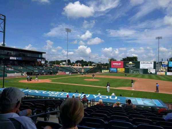 PeoplesBank Park, section: 6, row: q, seat: 8