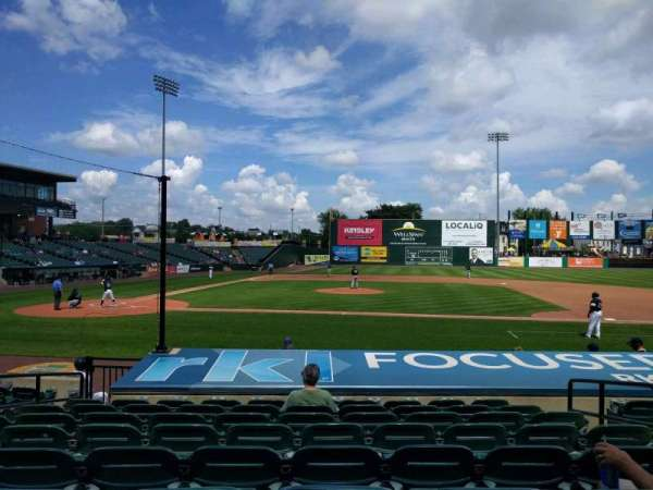 PeoplesBank Park, section: 8, row: k, seat: 5