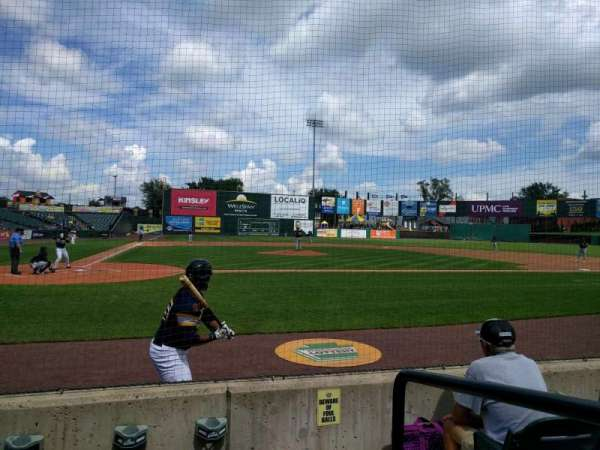 PeoplesBank Park, section: 10, row: d, seat: 1