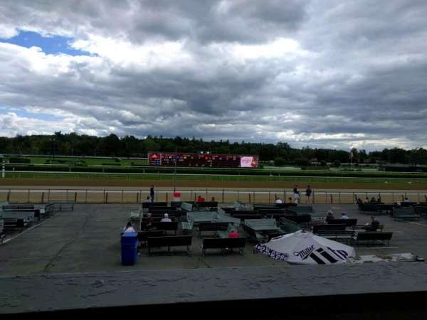 Saratoga Race Course, section: m, row: b, seat: 2