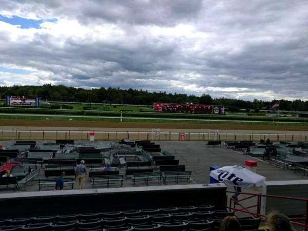 Saratoga Race Course, section: p, row: g, seat: 8
