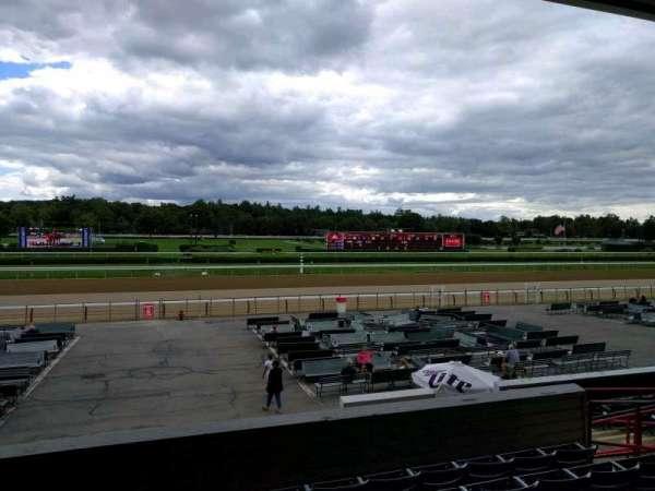 Saratoga Race Course, section: q, row: f, seat: 11