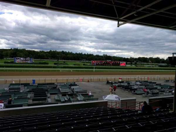 Saratoga Race Course, section: r, row: n, seat: 14