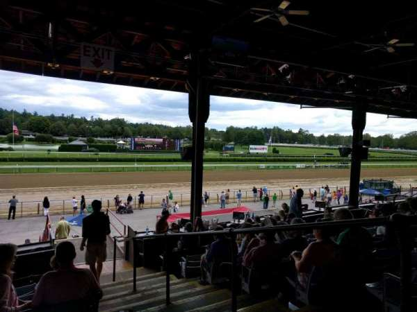 Saratoga Race Course, section: c, row: g, seat: 2