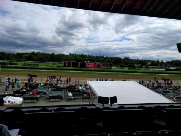 Saratoga Race Course, section: l, row: c, seat: 15