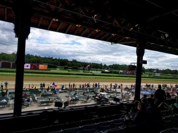 Saratoga Race Course, section: k, row: e, seat: 14