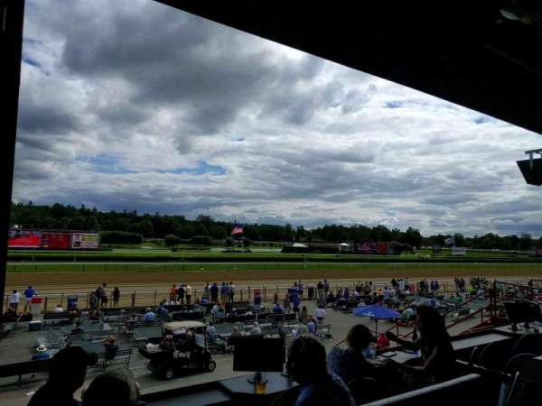 Saratoga Race Course, section: j, row: a, seat: 20