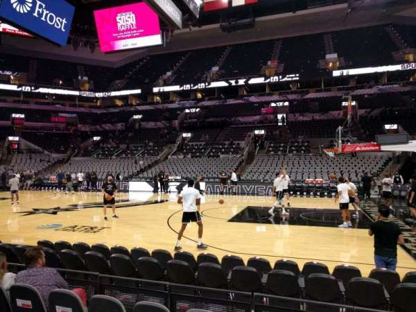 AT&T Center, section: 20, row: 8, seat: 11