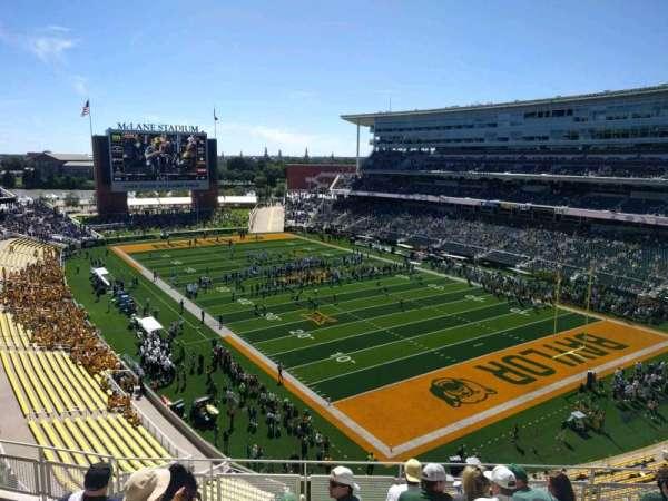 McLane Stadium, section: 318, row: 7, seat: 16