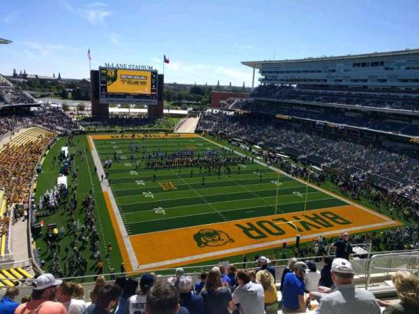 McLane Stadium, section: 317, row: 9, seat: 9